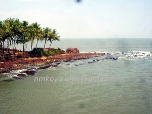 View of sea from Kadalundi