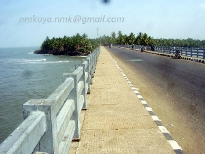 Sea From Kadalundi bridge